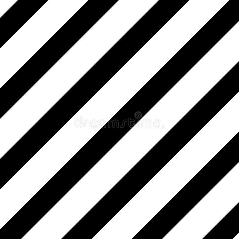 黑白条纹警告板材标志 皇族释放例证