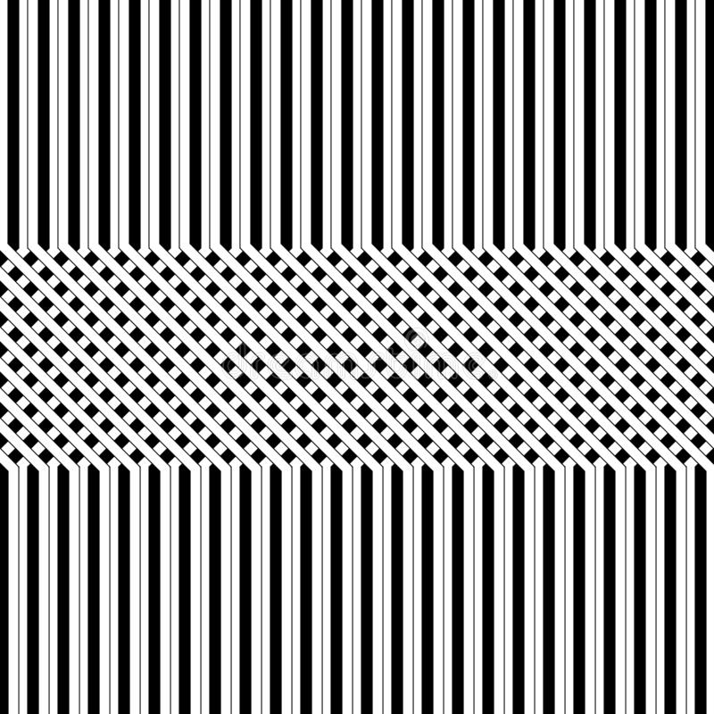 黑白线背景 皇族释放例证