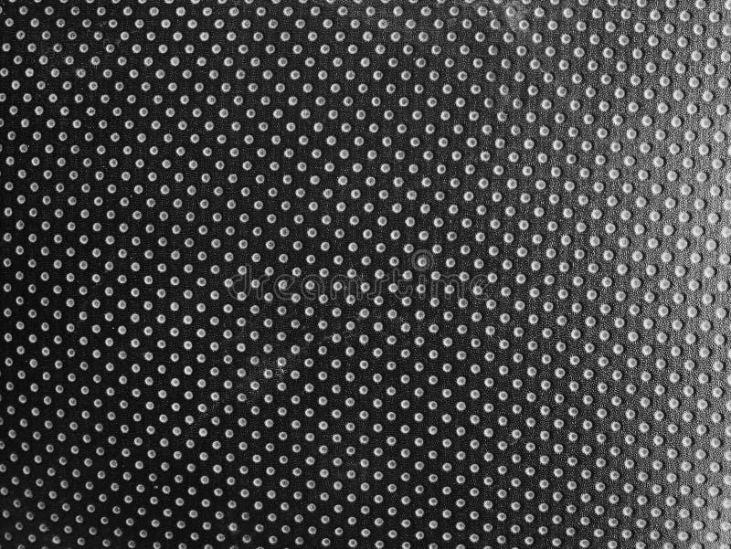 黑皮革皮肤纹理背景,肮脏的皮革纹理的关闭 免版税库存图片
