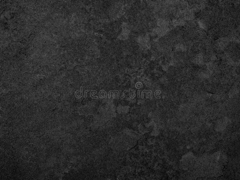黑石头,板岩纹理背景 免版税库存图片