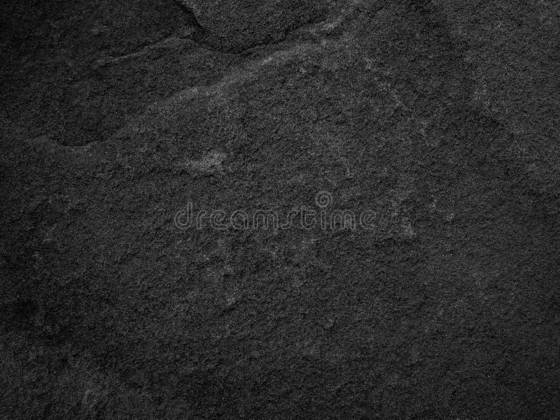 黑石头,板岩纹理背景 免版税图库摄影
