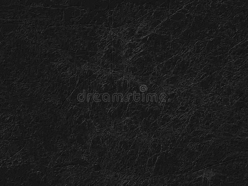 黑老被抓的石表面背景 图库摄影