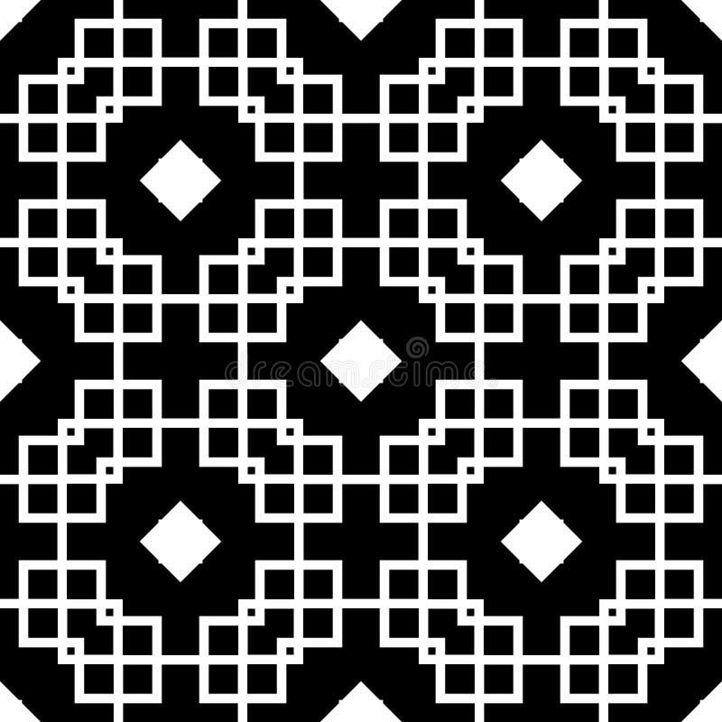 黑背景传染媒介无缝的repeted样式设计 皇族释放例证