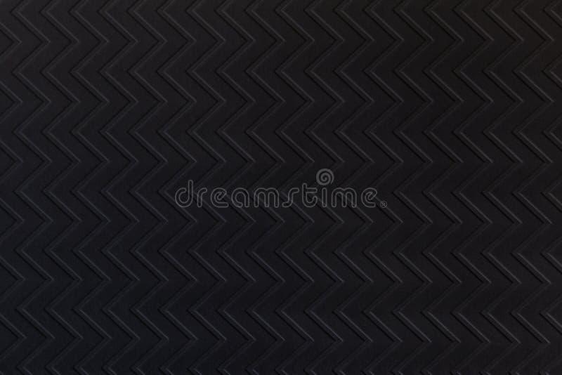 黑色之字形织构纸 适合任何设计的现代背景 库存图片