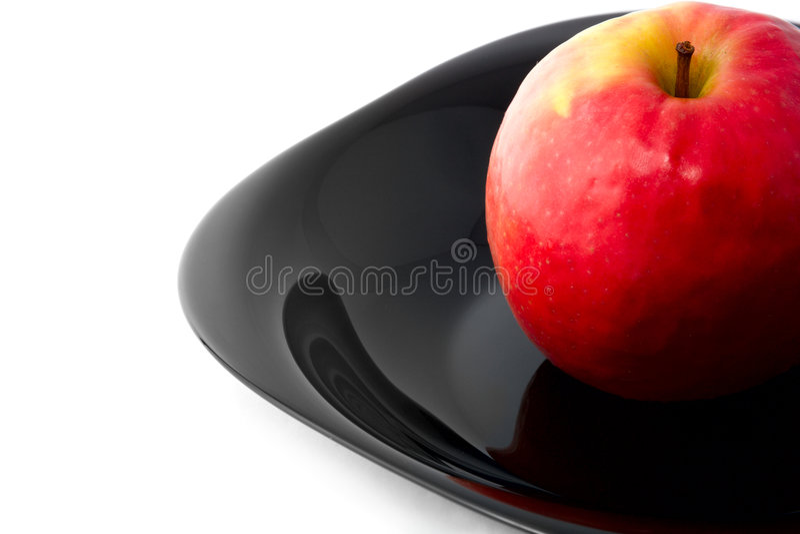 黑色健康红色 免版税图库摄影