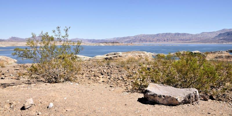黑色峡谷水坝真空吸尘器塔 免版税库存照片