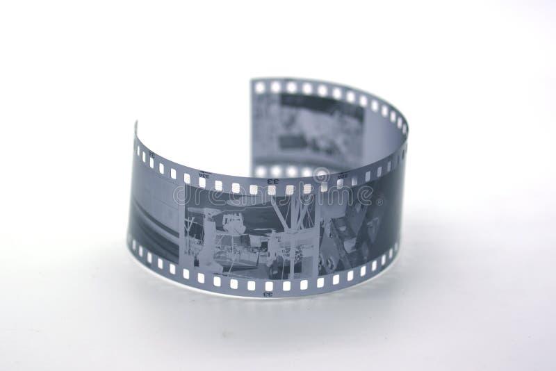 35黑色影片mm白色 图库摄影