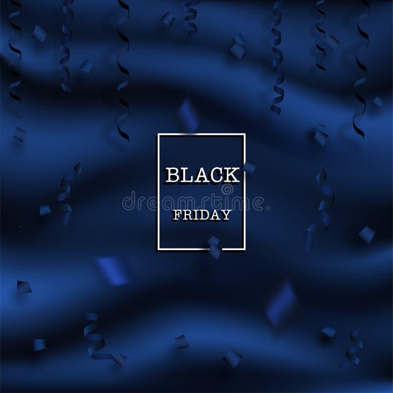 黑色星期五 向量例证