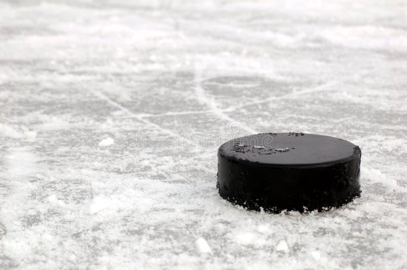 黑色曲棍球冰顽童溜冰场
