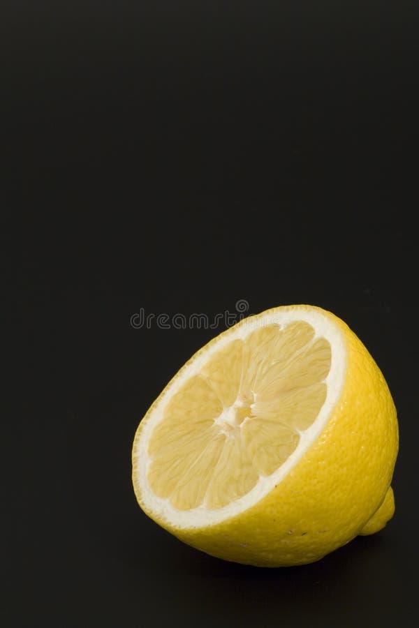 黑色柠檬 免版税库存图片