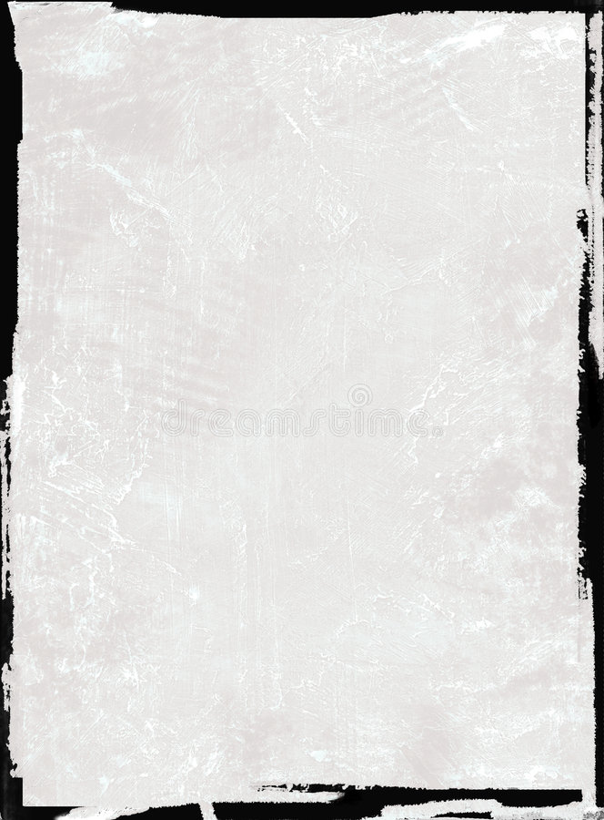 黑色框架grunge 皇族释放例证
