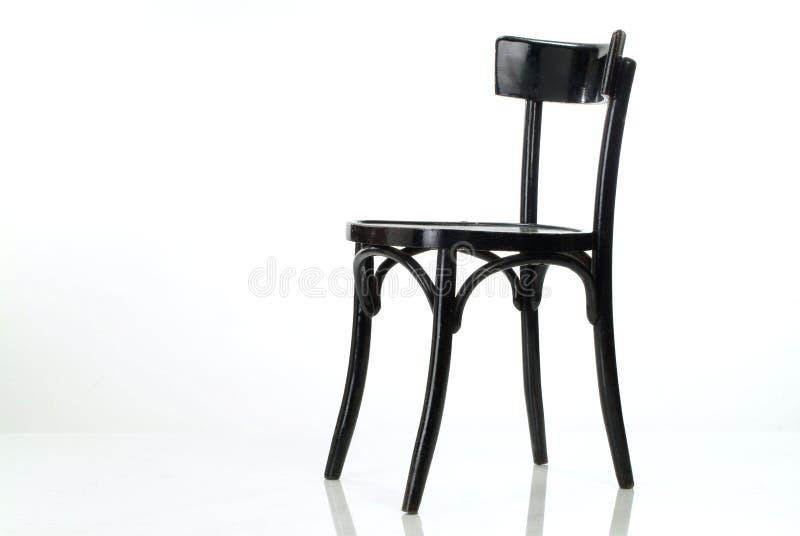 黑色椅子 库存照片