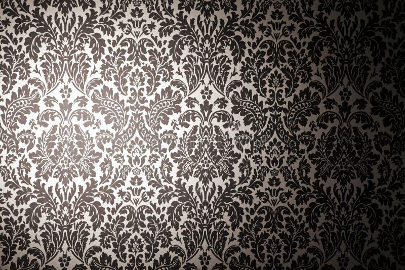Download 黑色模式墙纸白色 库存例证. 插画 包括有 生锈, 模式, 图象, 例证, 经典, 颜色, browne - 15690559