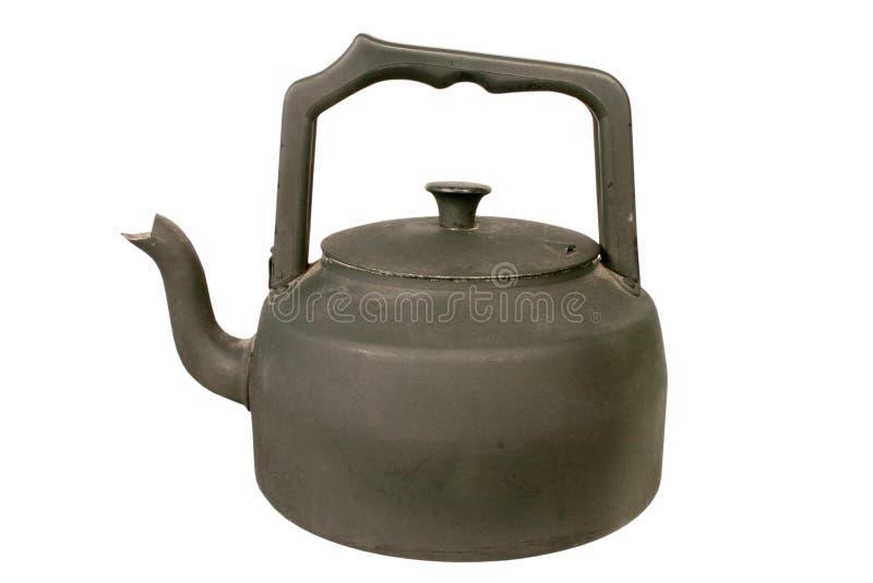 黑色水壶老火炉 库存照片