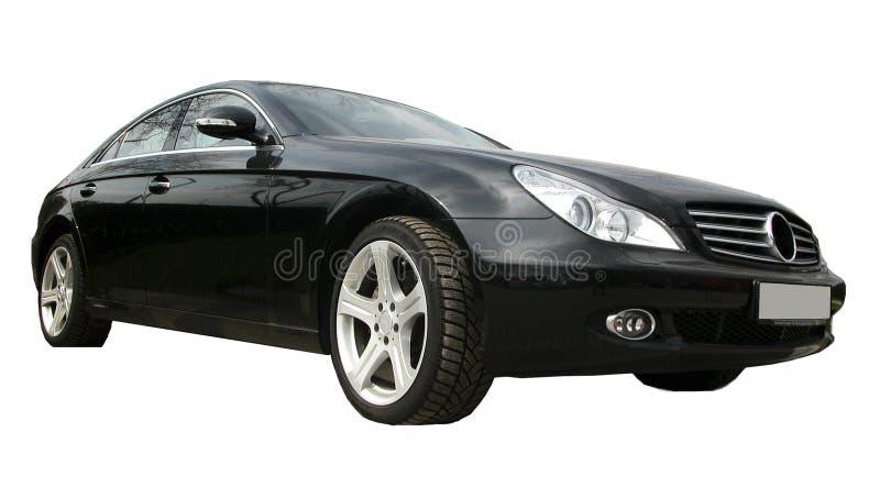 黑色汽车 免版税库存照片
