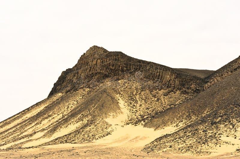 黑色沙漠 免版税库存图片
