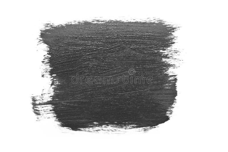 黑色油漆照片 免版税库存照片