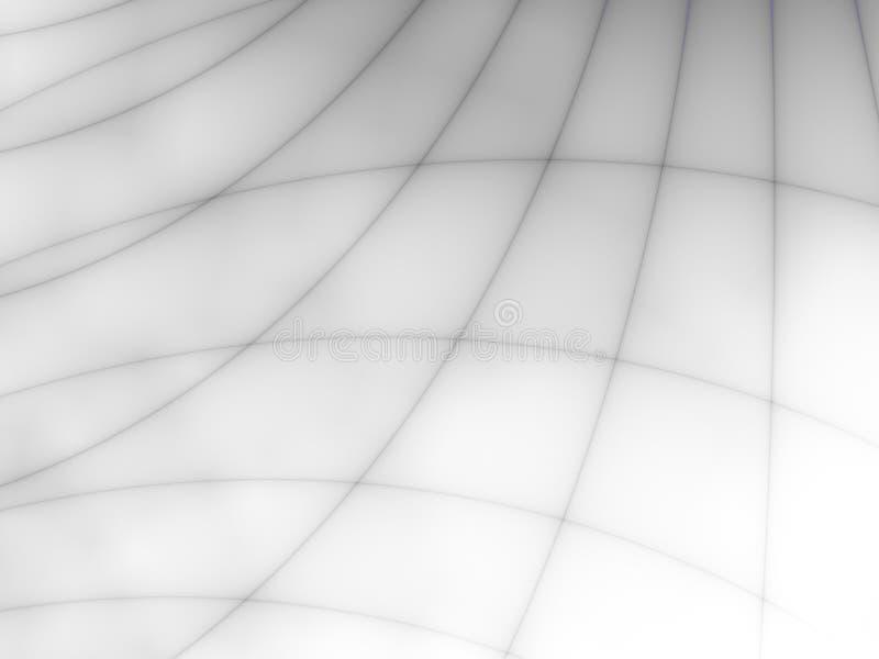 黑色精美线路 向量例证
