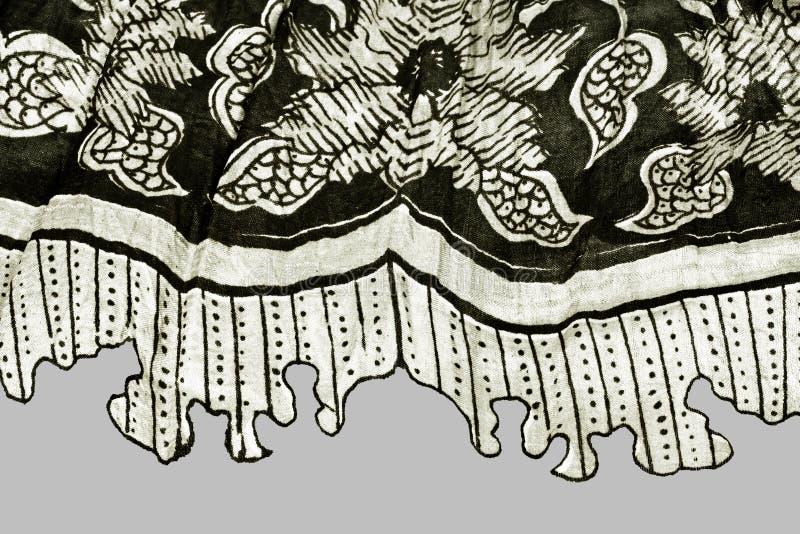 黑色织品白色 免版税库存图片