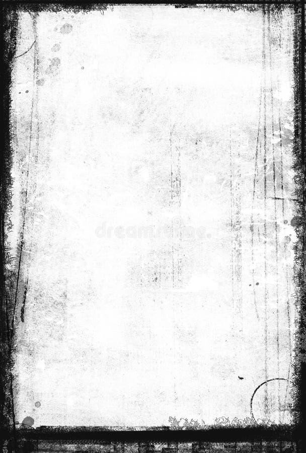 黑色脏的图象织地不很细白色 库存图片