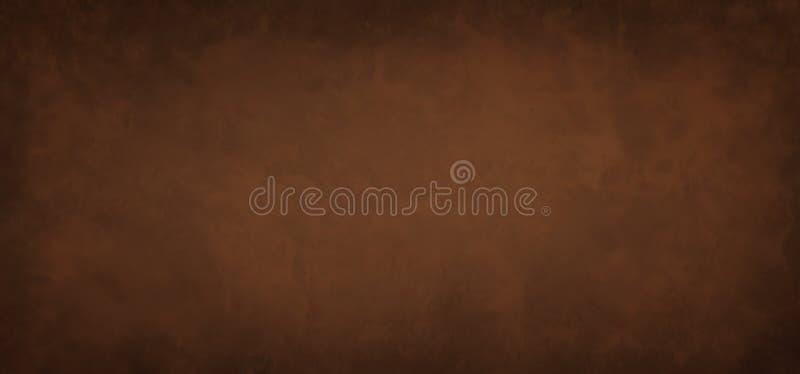 黑色边框旧旧旧纸设计的棕色背景纹理与朴素咖啡的古金属背景图 免版税库存图片