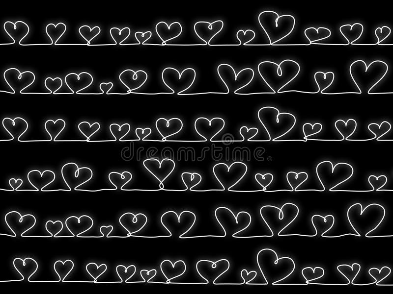 黑色重点向量 库存图片