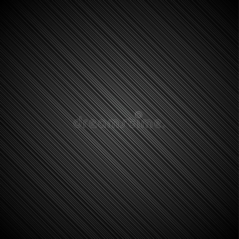 黑色金属纹理 库存例证