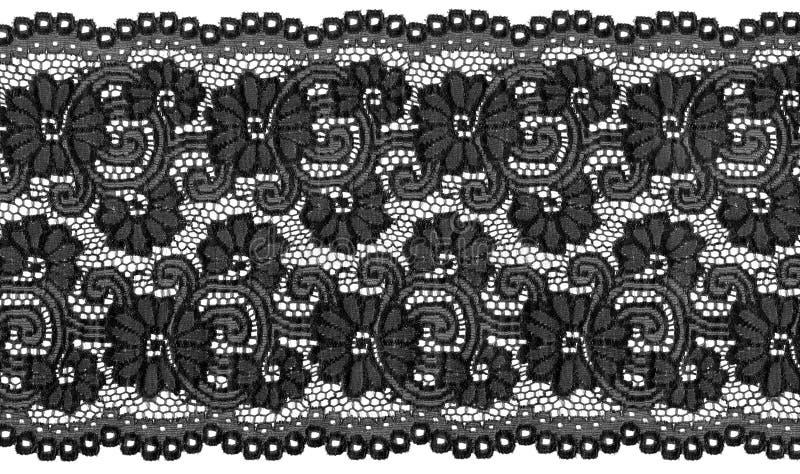 黑色鞋带 免版税库存图片