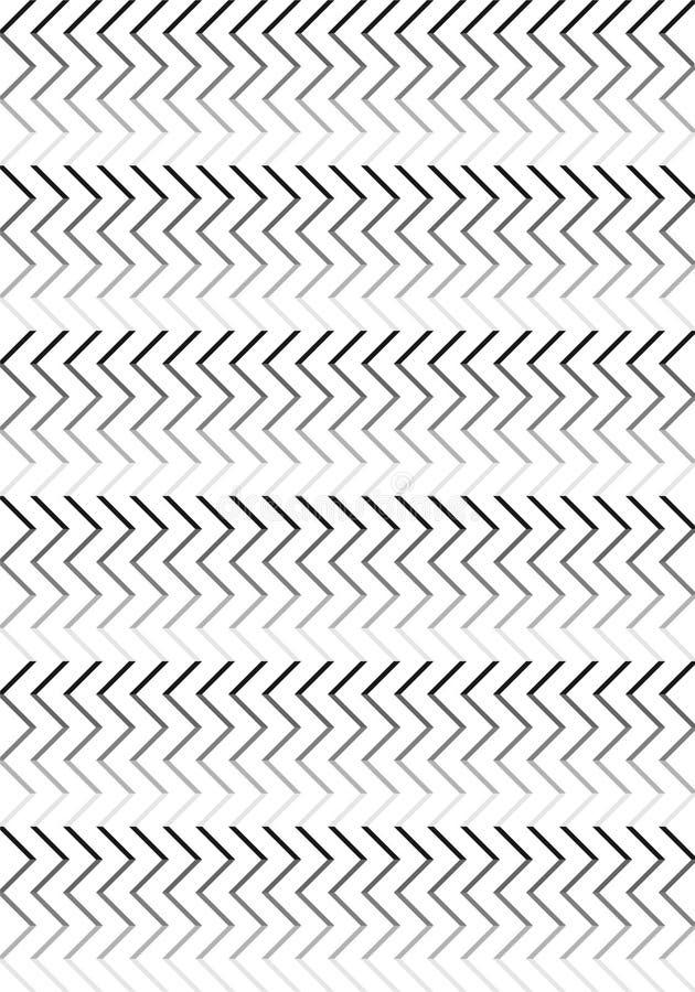 黑色&白线条乐团样式 免版税库存照片