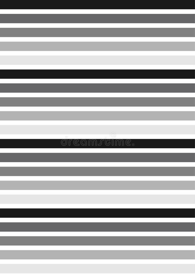 黑色&白线条乐团样式 免版税图库摄影