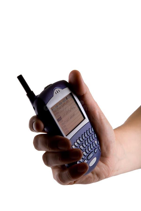 黑莓电池现有量电话 图库摄影