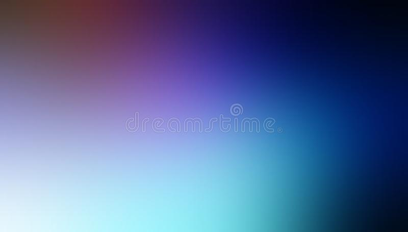 黑蓝色褐色和天空淡色被遮蔽的迷离背景墙纸 库存例证