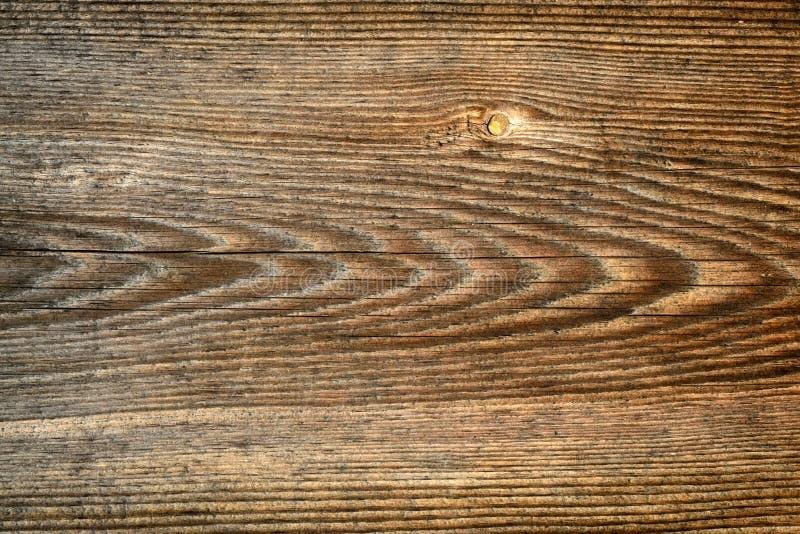 黑褐色被抓的木切板 木纹理 免版税库存照片
