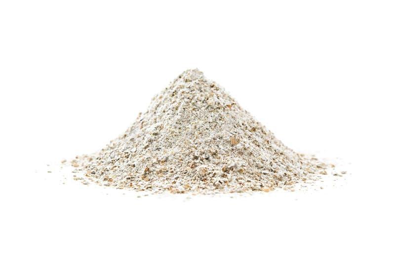 黑麦面粉 免版税库存照片