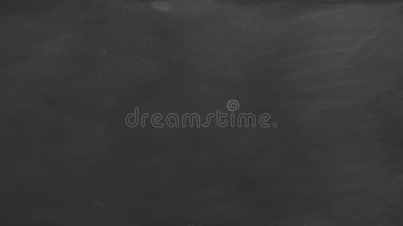 黑黑板背景 库存例证