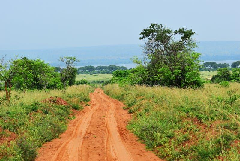 默奇森Falls国家公园,乌干达 免版税库存图片
