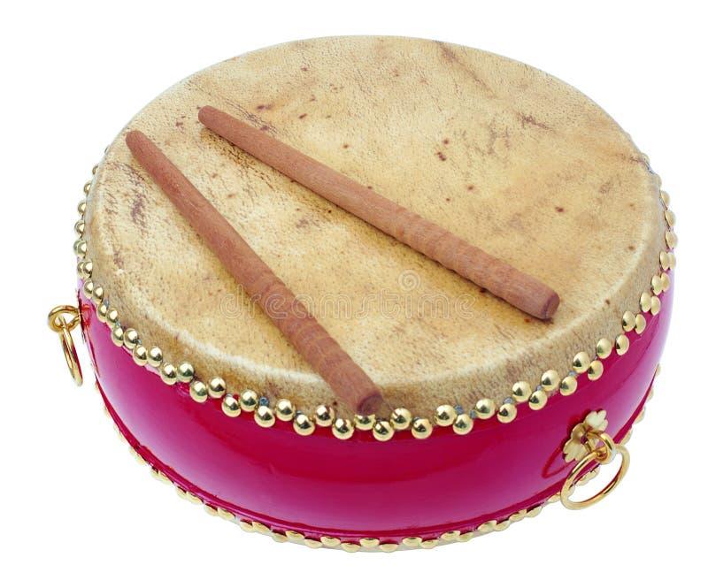 鼓仪器音乐会 库存图片