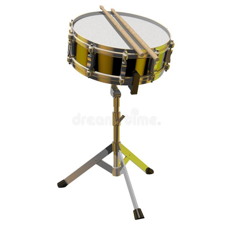 鼓圈套 向量例证