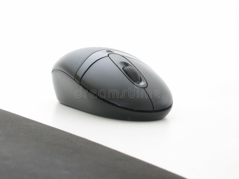 鼠标个人计算机 免版税库存照片
