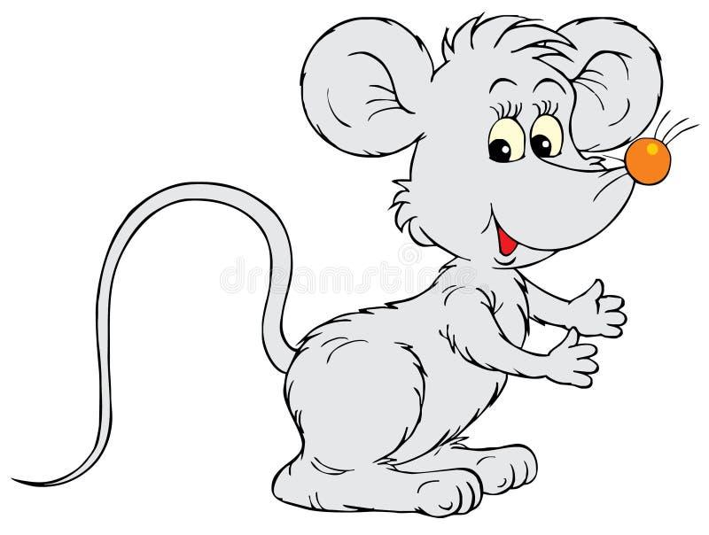 鼠标(向量夹子艺术) 向量例证