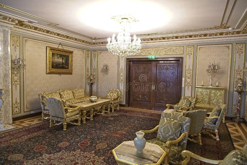 齐奥塞斯库宫殿 库存照片