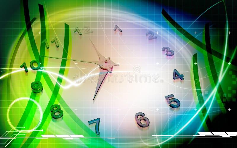 齿轮手表 库存例证