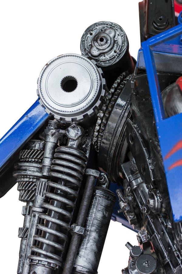 齿轮机器零件机器人 图库摄影