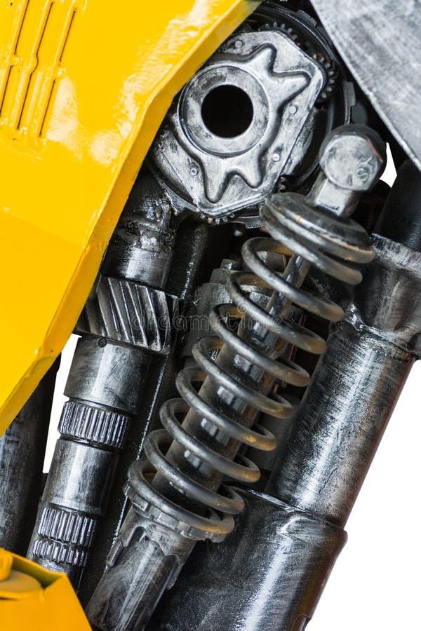 齿轮机器零件机器人 库存图片