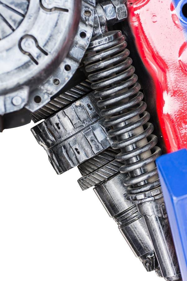 齿轮机器零件机器人 库存照片