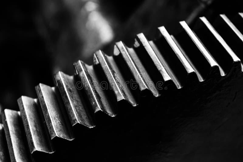 齿轮机器 免版税库存照片