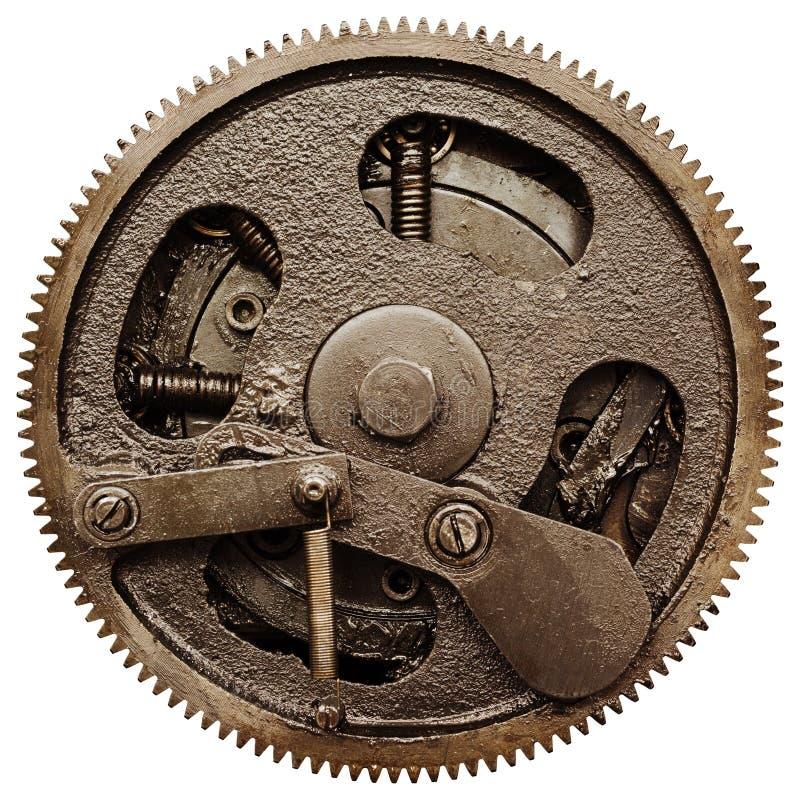 齿轮机构老视图 免版税库存照片
