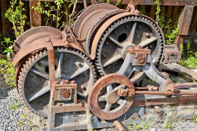 齿轮蒸培训 免版税库存照片