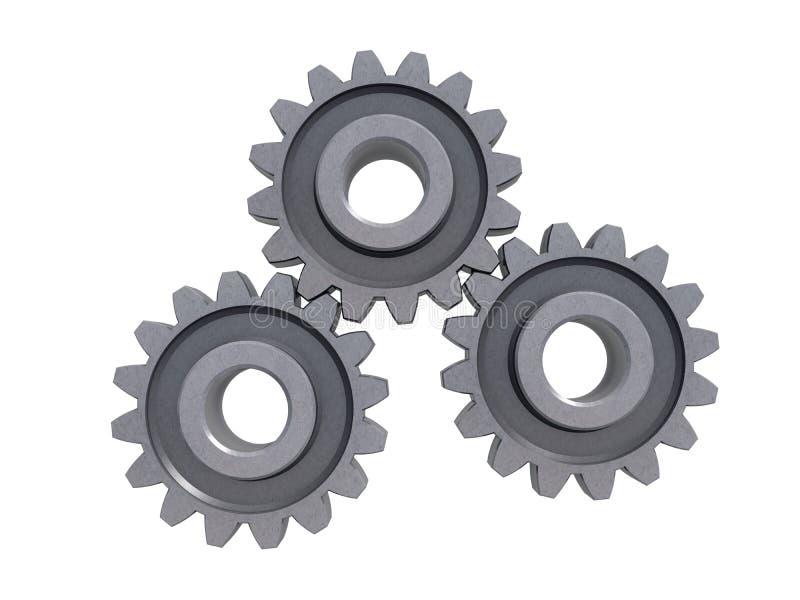 齿轮金属 图库摄影