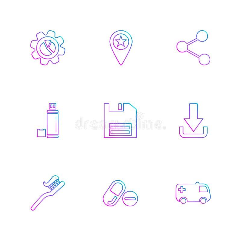 齿轮,航海,份额,瓶,救球,磁盘,下载,增殖比 库存例证